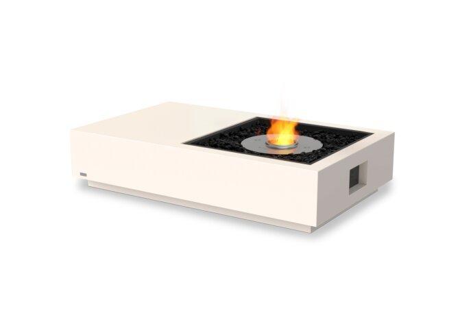Manhattan 50 Fire Table - Ethanol / Bone by EcoSmart Fire