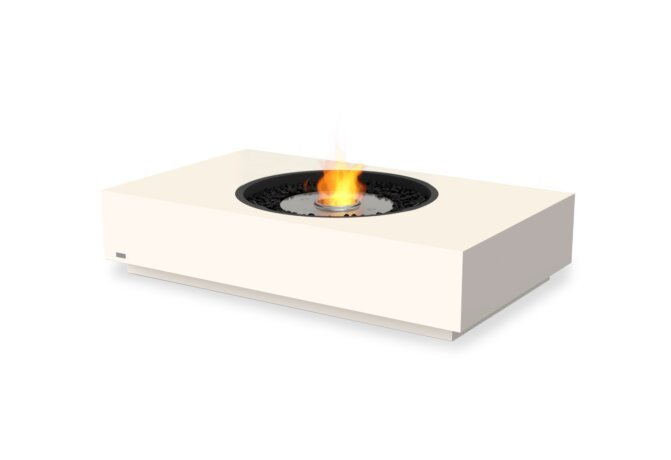 Martini 50 Fire Table - Ethanol / Bone by EcoSmart Fire