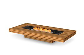 Gin 90 (Low) Centrepiece Fireplace - Studio Image by EcoSmart Fire