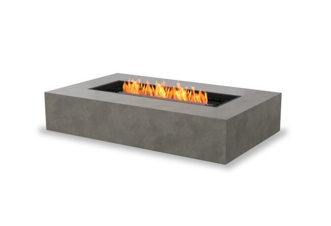 Wharf 65 Fire Table - Ethanol - Black / Natural by EcoSmart Fire