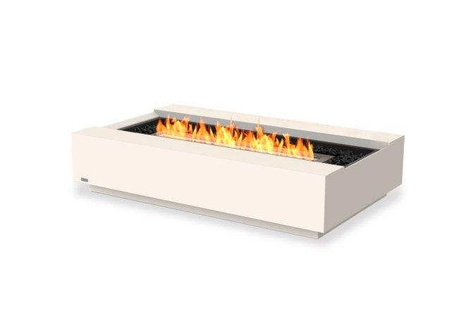 Cosmo 50 Fire Table - Ethanol - Black / Bone by EcoSmart Fire
