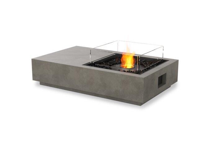 Manhattan 50 Fire Table - Ethanol - Black / Natural / Optional Fire Screen by EcoSmart Fire