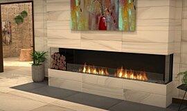 Lounge Area Fireplace Inserts Flex Sery Idea