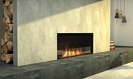 Living Area Single Sided Fireboxes Flex Sery Idea