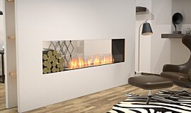 Living Area Indoor Fireplaces Flex Sery Idea