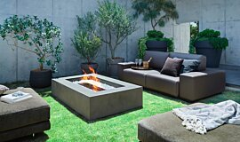 Private Residence Fire Tables Freestanding Fire Idea