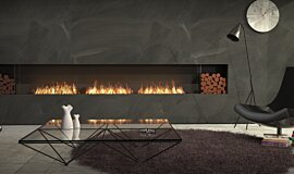 Living Room Indoor Fireplaces Flex Sery Idea