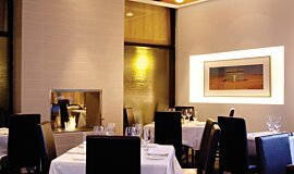 Equinox Restaurant Indoor Fireplaces Built-In Fire Idea