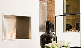 Fuorisalone Single Sided Fireboxes Fireplace Insert Idea