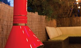 Vintage Conversion Outdoor Fireplaces Ethanol Burner Idea