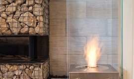 New American Home Designer Fireplaces Designer Fireplace Idea
