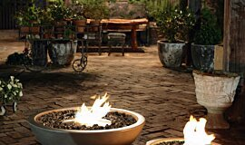 The Grounds MAD Services Fire Pit Idea