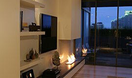 Pia Ruggeri Indoor Fireplaces Ethanol Burner Idea