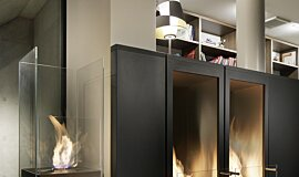 Merkmal Showroom Indoor Fireplaces Designer Fireplace Idea