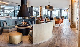 Hilton Auckland NZ Indoor Fireplaces Ethanol Burner Idea