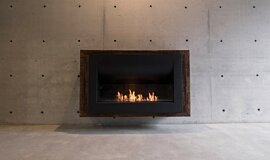 Max Brenner Indoor Fireplaces Built-In Fire Idea