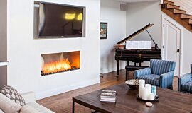 Studio City Single Sided Fireboxes Built-In Fire Idea