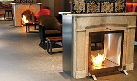 Equilibrium Bar Double Sided Fireboxes BK Burners 嵌入式燃烧室 Idea