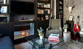 New York Loft Builder Fireplaces Fireplace Insert Idea