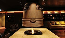 Chikusenso Mt Zao Onsen Resort & Spa Indoor Fireplaces Built-In Fire Idea