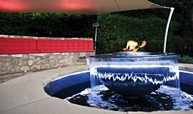 Fabric Ten Commercial Fireplaces Ethanol Burner Idea