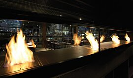 Hurricane's Grill & Bar Favourite Fireplace Brûleurs éthanol Idea
