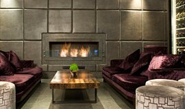 May Fair Bar Indoor Fireplaces Ethanol Burner Idea