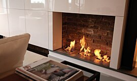 Queens Gate Terrace Builder Fireplaces Ethanol Burner Idea
