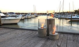 Hunters Hill Freestanding Fireplaces Fire Pit Idea