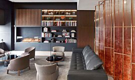 St Regis Hotel Bar Builder Fireplaces Built-In Fire Idea