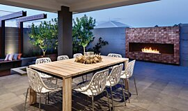 The Brindabella Builder Fireplaces Ethanol Burner Idea
