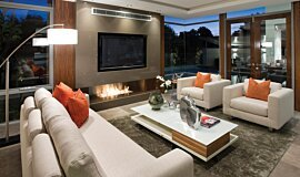 Buildwise Residential Fireplaces Ethanol Burner Idea