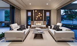 Churchlands Residence Favourite Fireplace Built-In Fire Idea