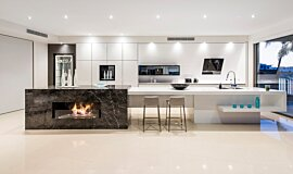 Enigma Interiors Favourite Fireplace Built-In Fire Idea