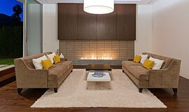 South Palm Canyon Indoor Fireplaces Ethanol Burner Idea