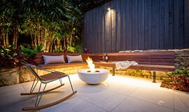 Stone Lotus Landscapes Commercial Fireplaces Fire Pit Idea