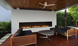 Flex 158SS Single Sided Fireplace by EcoSmart Fire Linear Fires Flex Sery Idea