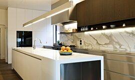 Celebrity Chef's Kitchen  Builder Fireplaces Fireplace Insert Idea