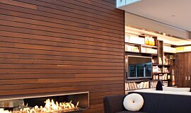Private Residence Linear Fires Ethanol Burner Idea