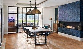 The Barns, UK Builder Fireplaces Flex Sery Idea