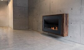 Max Brenner Linear Fires Fireplace Insert Idea