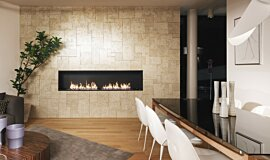 Merkmal Showroom Linear Fires Ethanol Burner Idea
