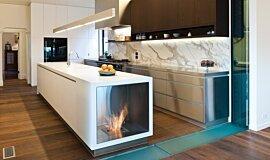 Celebrity Chef's Kitchen Favourite Fireplace Fireplace Insert Idea