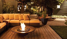 Private Residence Landscape Fireplaces Fire Pit Idea