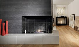 Merkmal Showroom Linear Fires Fireplace Insert Idea