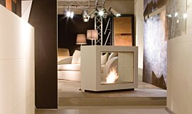 Milan Fair Commercial Fireplaces Designer Fireplace Idea