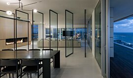 N Apartment Tel Aviv Linear Fires Ethanol Burner Idea