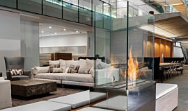 Nu Skin Innovation Centre Provo Linear Fires Ethanol Burner Idea