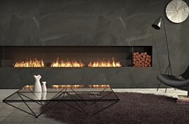 Single Sided Fireplace - In-Situ Image by EcoSmart Fire