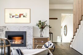 Firebox 720CV Outdoor Fireplace - In-Situ Image by EcoSmart Fire